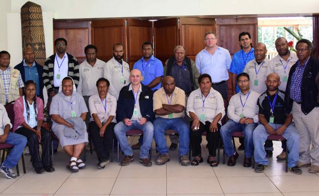 Inland Aquaculture Group Photo