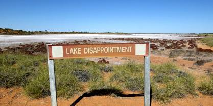 Mining for Potash will have permanent effects on the hydrology and ecological functioning of Lake Disappointment