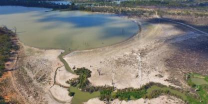 The Murray Darling Basin during drought. Photo : Shutterstock